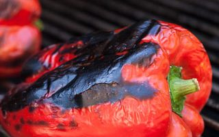 How to Roast and Grill Peppers