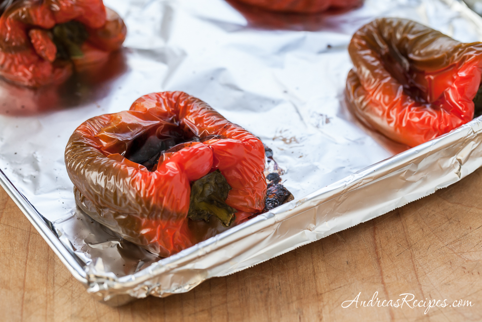 How to Roast and Grill Peppers - Andrea Meyers