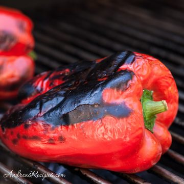Grilled Peppers - Andrea Meyers