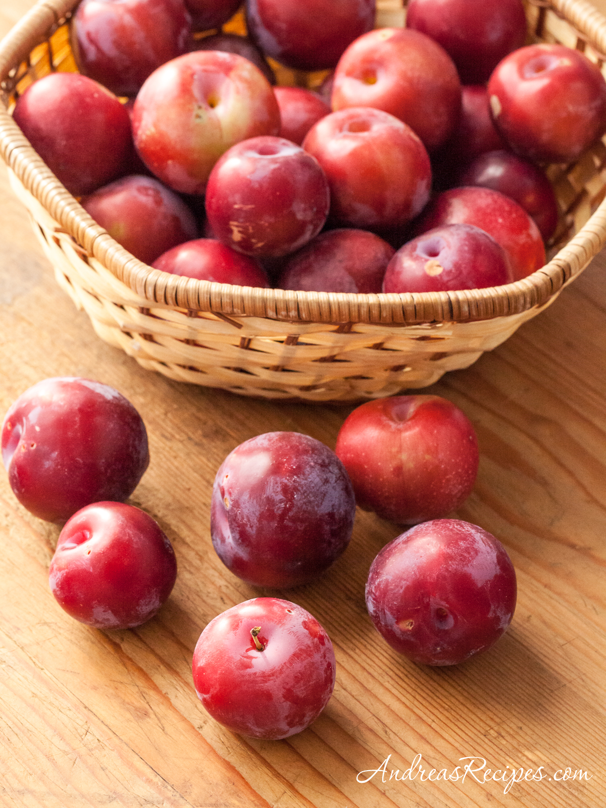 Plums from our home garden - Andrea Meyers