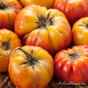 Mr. Stripey Tomatoes - Andrea Meyers