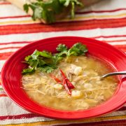 Chicken and Tomatillo Posole - Andrea Meyers