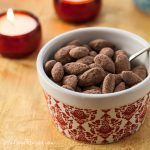 Cocoa Dusted Almonds - Andrea Meyers