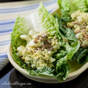 Avocado Egg Salad - Andrea Meyers