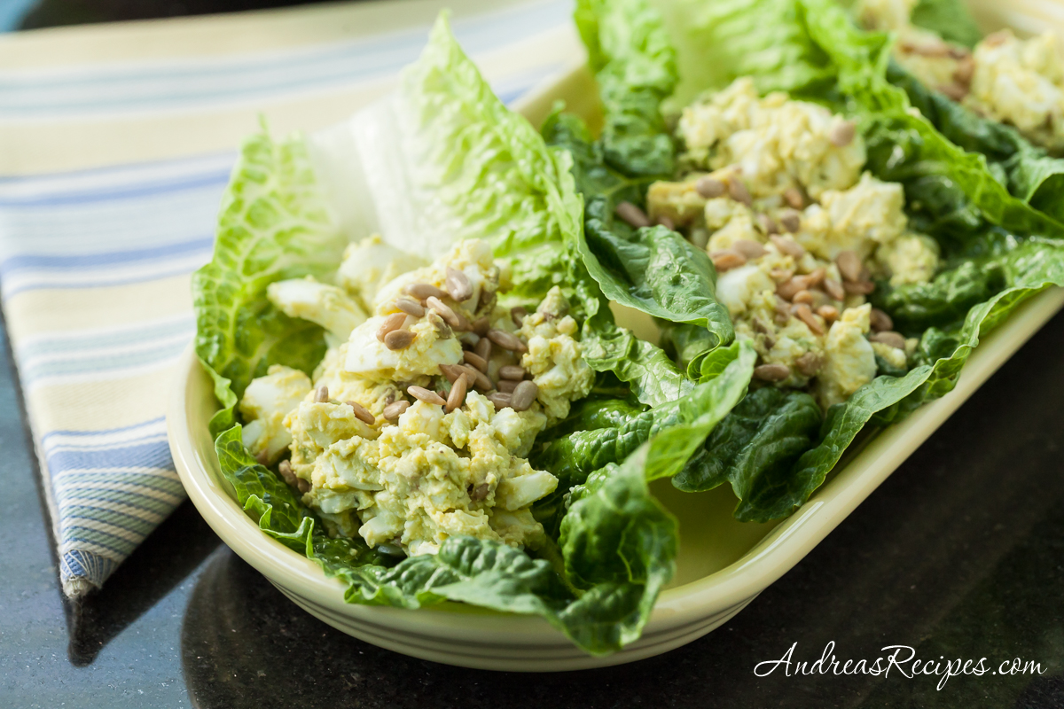 Avocado Egg Salad - Andrea Meyers