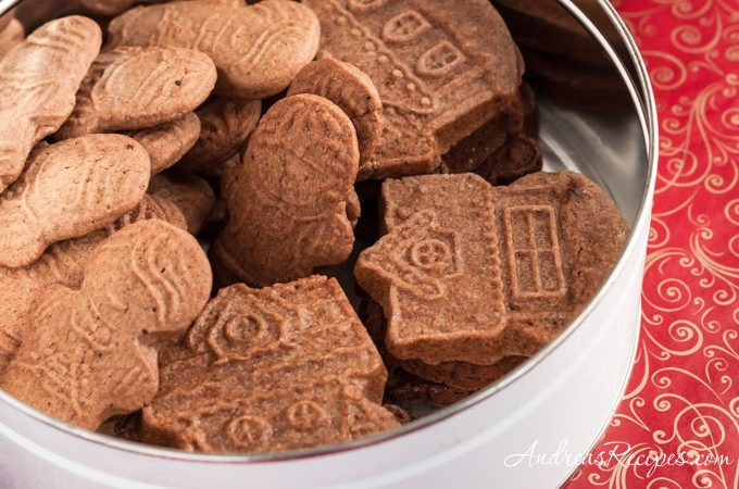 Speculaas (Molded Ginger Cookies) - Andrea Meyers