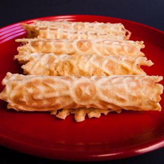 Curled Wafers (Krumkake) – 12 Days of Cookie