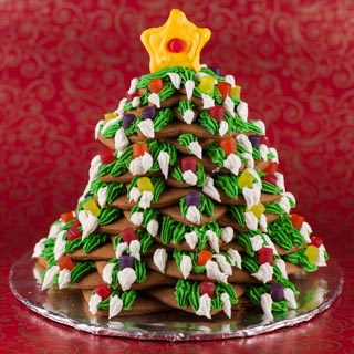Gingerbread Christmas Tree - Andrea Meyers
