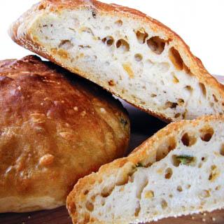 Jalapeno Cheddar No-Knead Bread - Andrea Meyers