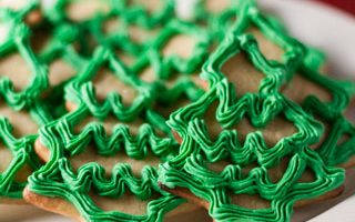 Moravian Christmas Trees – 12 Days of Cookies