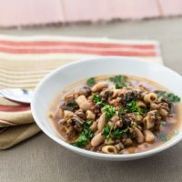 Sausage, Kale, and Cannellini Bean Soup - Andrea Meyers