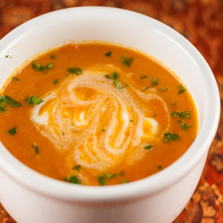 Carrot Ginger Soup and a Giveaway