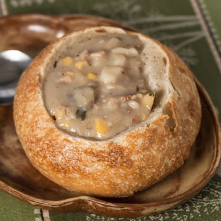 New England Clam Chowder - Andrea Meyers