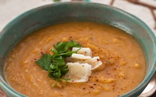 From the Pantry: Merkén (Creamy Sweet Potato and Leek Soup)