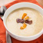 Potato-Leek Soup with White Truffle Honey - Andrea Meyers