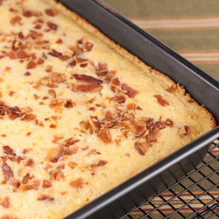 Cornbread with Bacon - Andrea Meyers