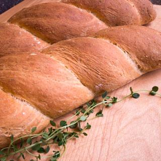 Pane alle erbi (Italian Herb Twist Bread) - Andrea Meyers