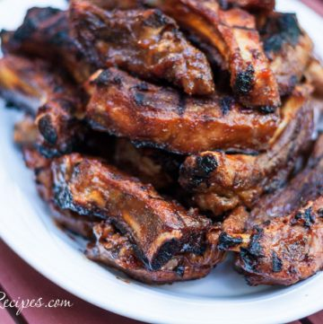 Barbecued Ribs - Andrea Meyers