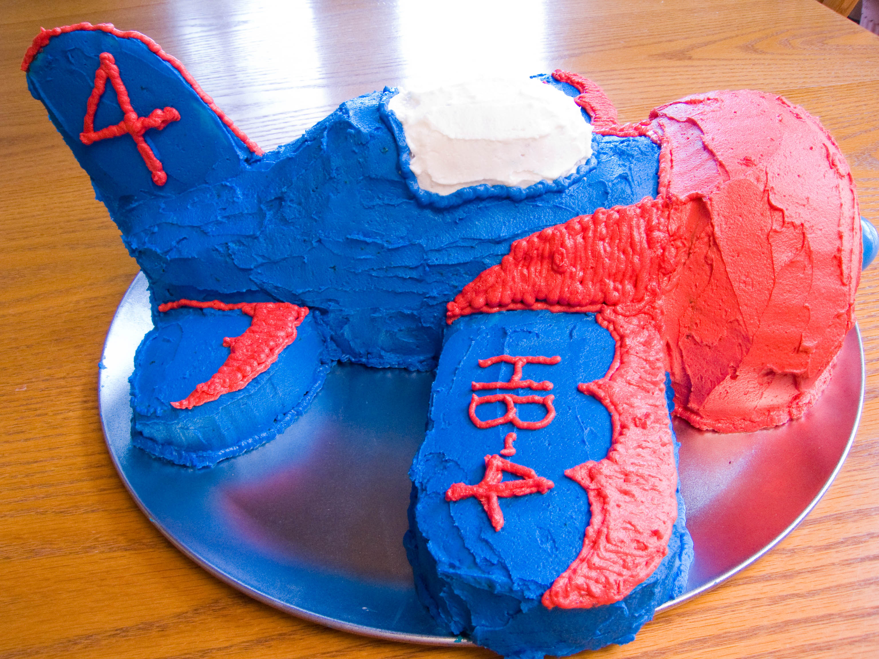 Airplane Birthday Cake, by Andrea Meyers