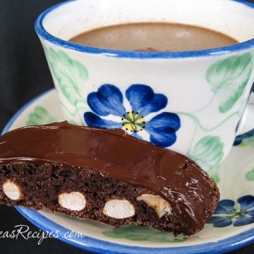 Chocolate Hazelnut Biscotti, by Andrea Meyers