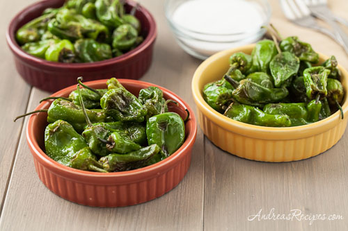 Tapas: Padron Peppers, by Andrea Meyers